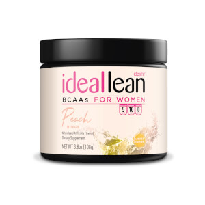 IdealLean BCAAs - Peach Rings - 10 Servings