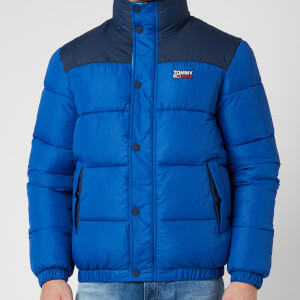 Tommy Jeans Men's Corp Puffa Jacket - Providence Blue