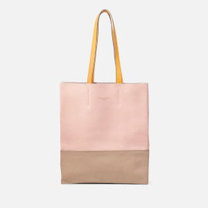 Aspinal of London Women's Origami Tote Bag - Mandarin/Warm Grey/ Shell Pink/Bloomsbury/Soft Taupe