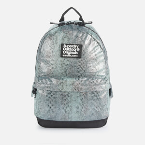 Superdry Women's Glitter Scale Montana Bag - Blue