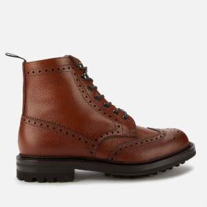 Church's Men's Mac Farlane LW Grained Leather Lace Up Boots - Walnut