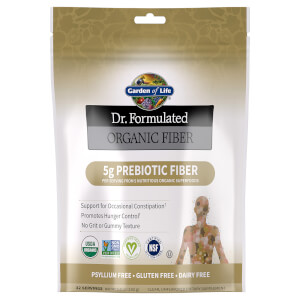 Dr. Formulated Organic Fiber Unflavored 192g Powder