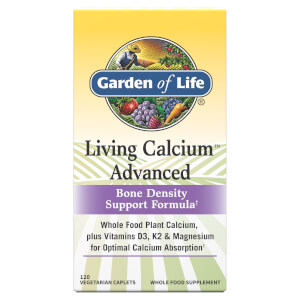 Garden of Life Living Calcium Advanced - 120 Tablets