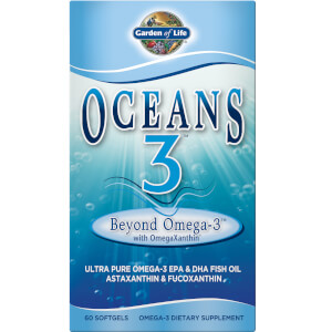 Garden of Life Oceans 3 Beyond Omega - 3 - 60 Softgels