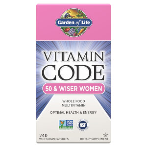 Vitamin Code 50 and Wiser Women 240ct Capsules