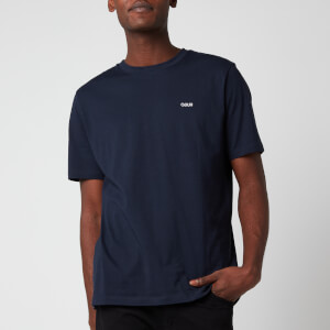 HUGO Men's Dero204 T-Shirt - Dark Blue