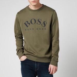 BOSS Men's Salbo Sweatshirt - Dark Green