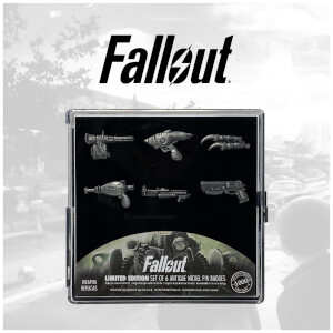 Fallout Pin Badge Set