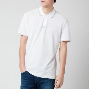 BOSS Men's Pchup Polo Shirt - White