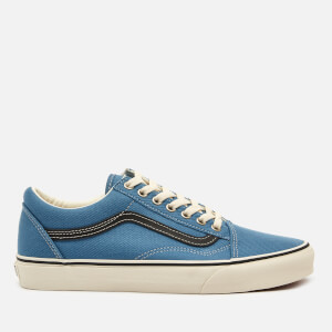 Vans Men's Old Skool Earth Trainers - Corenet Blue/Marshmallow