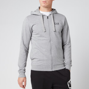 Emporio Armani EA7 Men's Zipped Hoodie - Grey