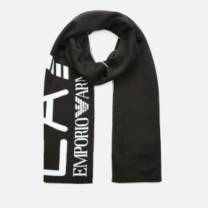 Emporio Armani EA7 Men's Visibility Scarf - Black