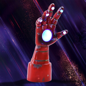 Marvel Iron Man Table Top Arm Lamp