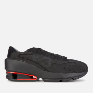 Y-3 Men's Sukui Ii Trainers - Black/Red