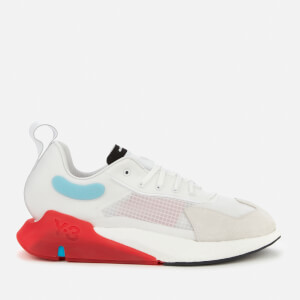 Y-3 Men's Orisan Trainers - White/Red/Sigcya