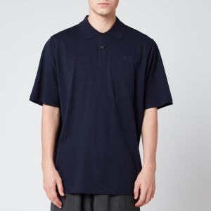 Y-3 Men's Classic Pique Polo Shirt - Legend Ink