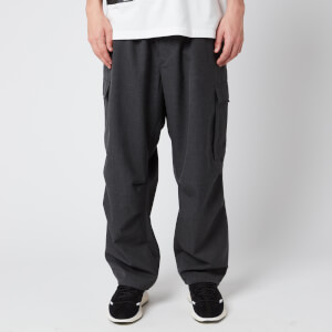 Y-3 Men's Classic Winter Wool Cargo Pants - Chamel