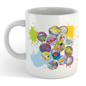 Nickelodeon Badges Mug