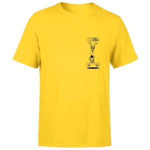 CatDog Pocket Square Unisex T-Shirt - Yellow