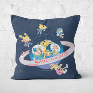 Nickelodeon Space Cadets Square Cushion