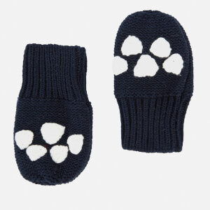 Joules Babies' Paws Mittens - French Navy