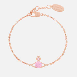 Vivienne Westwood Women's Reina Small Bracelet - Pink Gold Pink