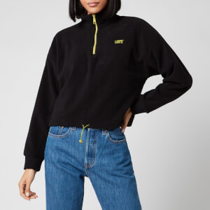Levi's Women's Trekker Quarter Zip Fleece - Caviar