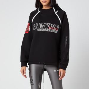 P.E Nation Women's Racing Line Hoodie - Black