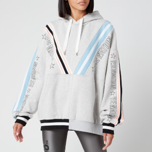 P.E Nation Women's Aerial Drop Hoodie - Grey Marl