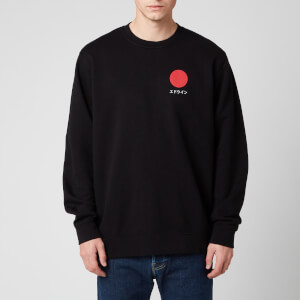Edwin Men's Japanese Sun Sweatshirt - Black