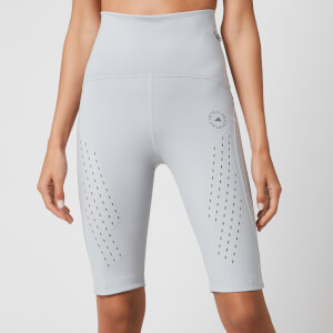 adidas by Stella McCartney Women's Truepure Cycle Shorts - Clear Onix