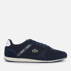 Lacoste Men's Menerva Sport 0120 1 Running Style Trainers - Navy/White