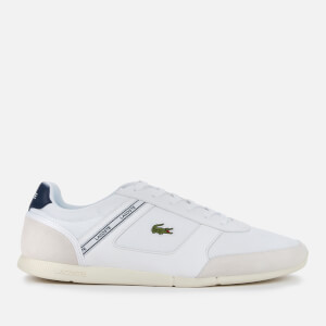 Lacoste Men's Menerva Sport 0120 1 Running Style Trainers - White/Light Grey