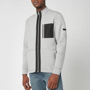 Barbour International Men's Ratio Zip Thru Jacket - Grey Marl