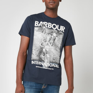 Barbour International Men's Archieve Comp T-Shirt - Navy
