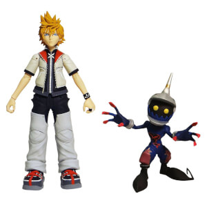 "Diamond Select Kingdom Hearts - Roxas & Soldier 6"" Action Figure"