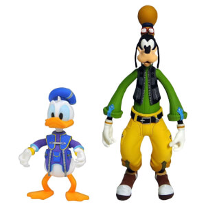"Diamond Select Kingdom Hearts - Donald & Goofy 6"" Action Figure"