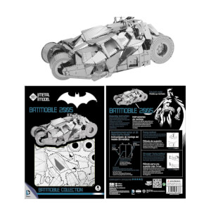 DC Comics DC Universe 3D Metal Model Kit Batmobile 2005
