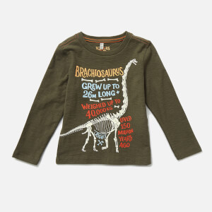 Joules Kids' Raymond Glow In The Dark Long Sleeve T-Shirt