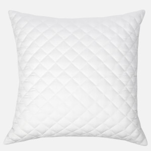 in homeware Diamond Quilted Cushion - White