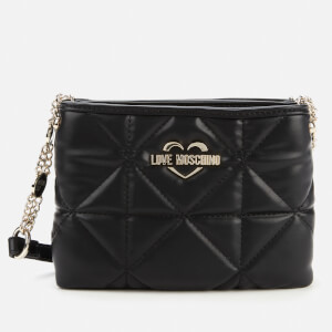 Love Moschino Women's New Quilt Cross Body - Black