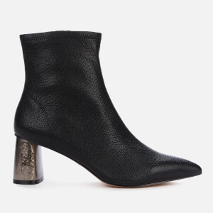 Kurt Geiger London Women's Rio Leather Heeled Ankle Boots - Black