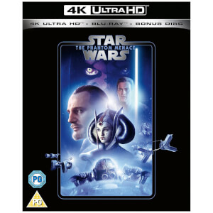 Star Wars - Episode I - The Phantom Menace - 4K Ultra HD (Includes 2D Blu-ray)