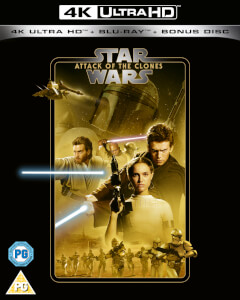 Star Wars - Episode II - Attack of the Clones - 4K Ultra HD (Includes 2D Blu-ray)