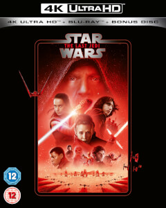 Star Wars - Episode VIII - The Last Jedi - 4K Ultra HD (Includes 2D Blu-ray)