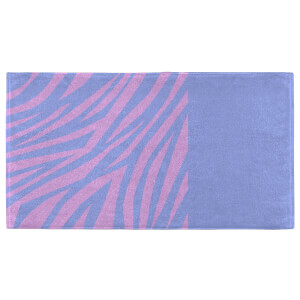 Zebra Print Warm Fitness Towel