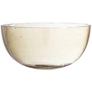 Bloomingville Recycled Glass Casie Bowl - Large - Brown