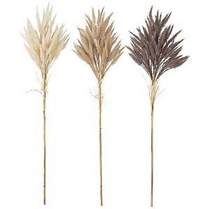 Bloomingville Faux Dried Flower - Set of 3 - Wheat