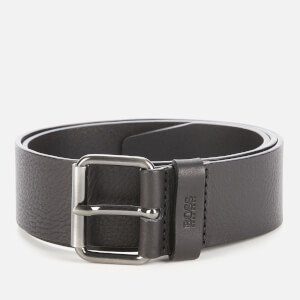 BOSS Men's Serge Leather Belt - Black