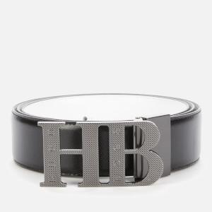 BOSS Men's Balwinno Leather Belt - Black